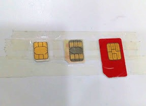mini sim card telkomsel