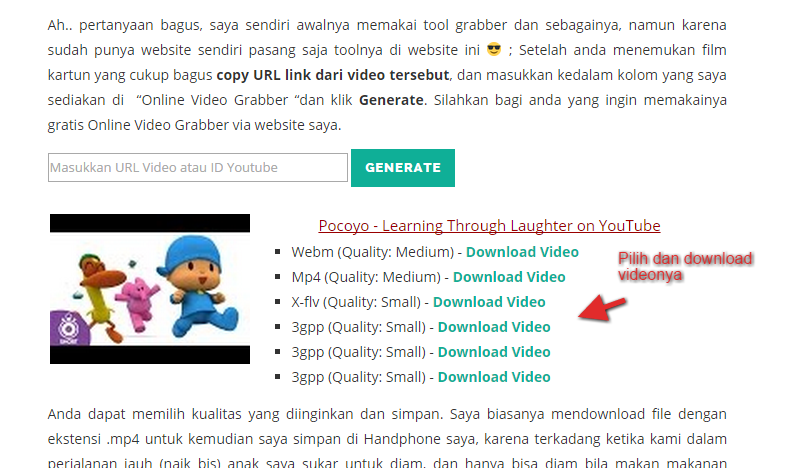 download-video-kartun-youtube